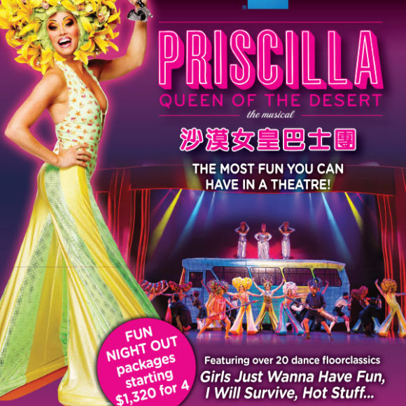 South African cast set to wow Hong Kong audiences in Priscilla Queen of the Desert