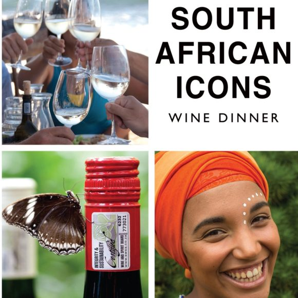 South African Icons Wine Dinner 12 April 2018