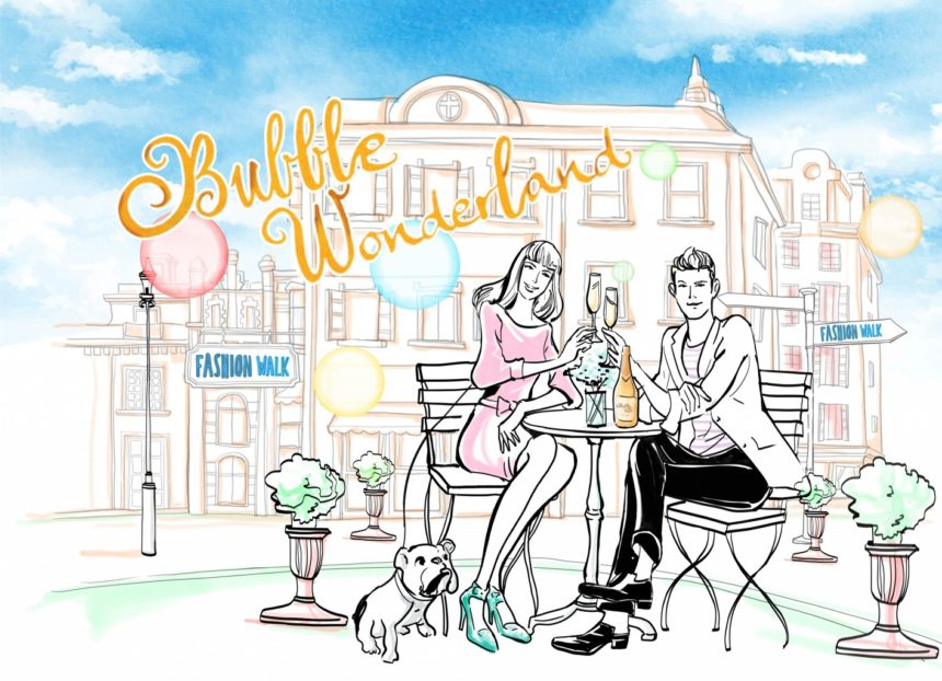 Bubble Wonderland Sparkling Wine Experience – 19 March to 18 April 2021