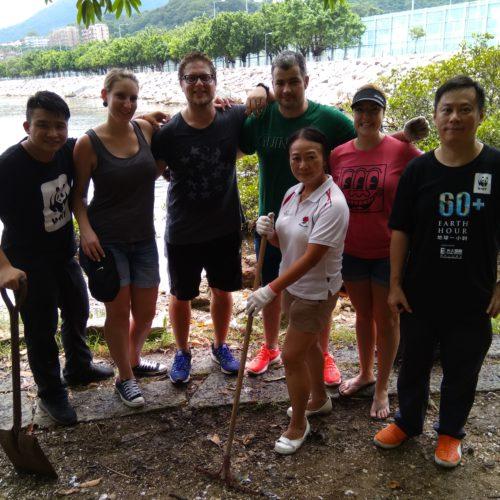 WWF Island House Beach Cleanup