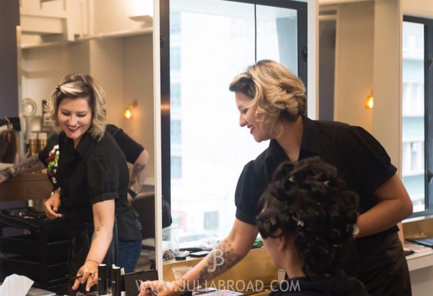 SAAHK Spotlight on Yentl Snyman – hairstylist, make-up artist and entrepreneur