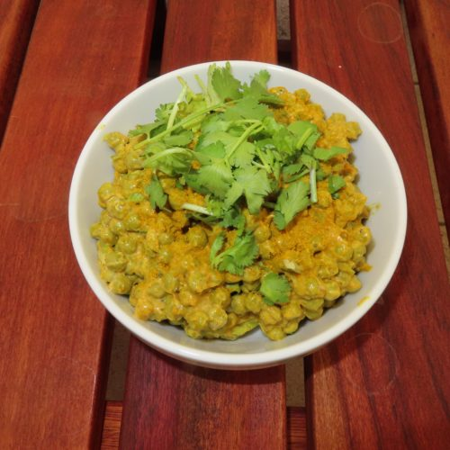Recipe of the Month – Curry Pea Salad